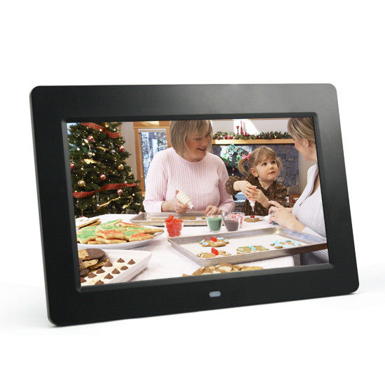 Decorative Desktop 10 Inch Video POP LCD Display With Colorful Frame LOGO Print