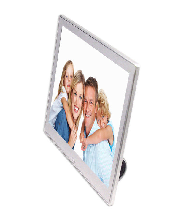 8 inch Video / Audio USB 2.0 Battery Operated Digital Photo Frame 250cd/m2
