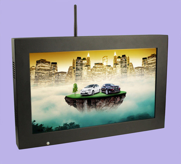 18.5 Inch 16.7M 500:1 Wall Mount LCD TV Advertising Display 1600*900 Resolution